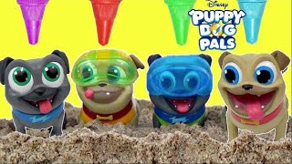 Download Disney Jr. PUPPY DOH PALS Treasure Hunt, Rolly, Bingo, Hissy, A.R.F. Bath Time IRL/ TUYC Video