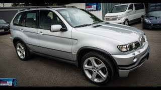 Download Walk Around/Test Drive - 2002 BMW X5 4.6iS - JDM Car Auctions Video