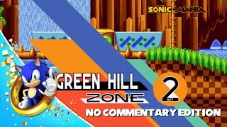 Download Sonic Mania - Green Hill Zone Act 2 Raw Gameplay Video