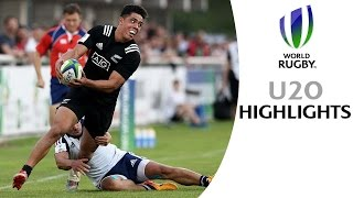 Download U20 SEMI-FINAL HIGLIGHTS: New Zealand 45-7 France Video