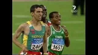 Download El Guerrouj 5000m Athens Gold Video
