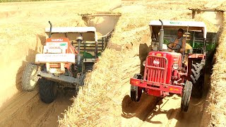 The Largest Combine Harvester | Hindi | How Do We Get Rice