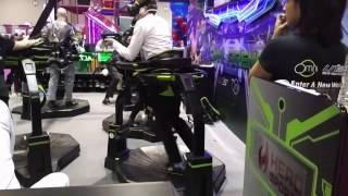 Download Omni Arena VR (Universal Space/ Virtuix Omni) @ IAAPA 2016 Video
