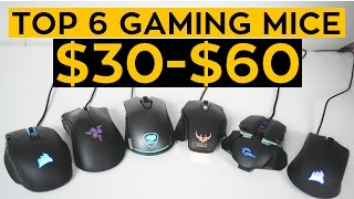 Download The TOP 6 Budget Gaming Mice for 2017! Video