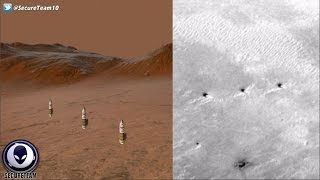 Download Row Of Alien Towers Found On Mars 12/7/16 Video