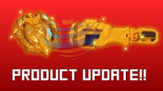 Download GOLD XCALIUS + AVATAR BATTLE SET - BEYBLADE BURST HASBRO PRODUCT UPDATE Video