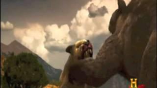 Download Prehistoric Mega Lion VS Giant Mega Bear!- Very Epic! Video