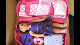 Download How To Travel With Your American Girl Doll ~ Overnight Stay Video