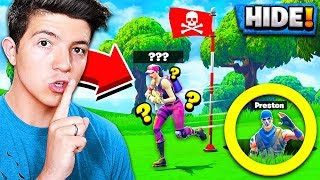 Download ULTIMATE HIDING SPOT in Fortnite PLAYGROUND v2 MODE! *NEW* HIDE & SEEK Gamemode! Video