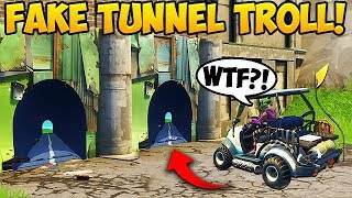 Download NEW FAKE TUNNEL TROLL! - Fortnite Funny Fails and WTF Moments! #266 (Daily Moments) Video