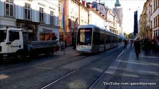 Download HGL Trams at Herrengasse in Graz,Austria Video