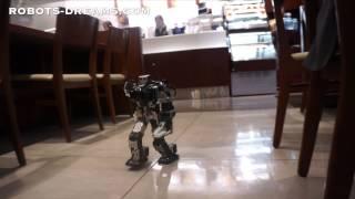 Download Thunderbolt Robot Unique Walking Gait Video