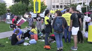 Download Gathering after the March and the speeches, Sue Bierman Park - Embarcadero SF 9 20 2019 Video