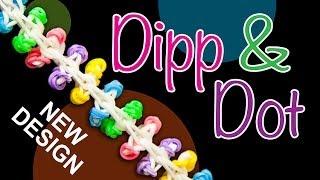 Download NEW Rainbow Loom design - DIPP & DOT Video