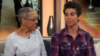 Download Cameron Boyce Blushes When Grandma Raves About His Success In 2016 Interview Video