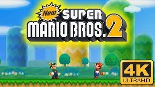 Download New Super Mario Bros. 2 4K Gameplay | Citra Emulator Video