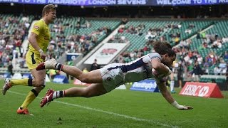 Download INCREDIBLE tries from record breaking London Sevens at Twickenham! Video