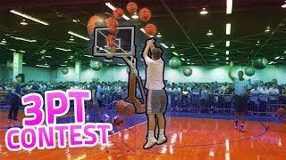 Download EPIC LIVE YOUTUBER BASKETBALL 3PT CONTEST!!! Video