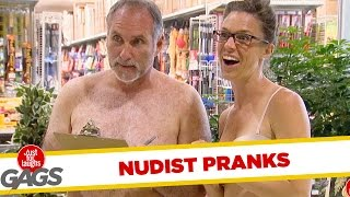 Download Nudist Pranks - Best of Just For Laughs Gags Video