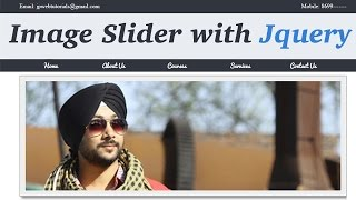 Download How to apply Image Slider effect in your website with help of jquery. (Hindi/Urdu) Video
