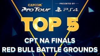 Download SFV: TOP 5 MOMENTS - CPT NA FINALS RED BULL BATTLE GROUNDS - CPT 2016 Video