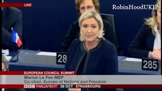 Download Marine Le Pen and UKIP agree the EU is finished Video