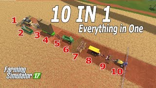 Download Farming Simulator 17| The Crazy Farmer Series Continues!!! 10 in 1 - Funny Farmer 😁😁😀 Video