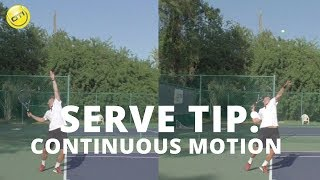 Download Tennis Serve Tip: A Continuous Motion Video