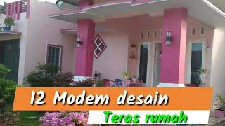 Download 12 Model desain teras rumah populer Video