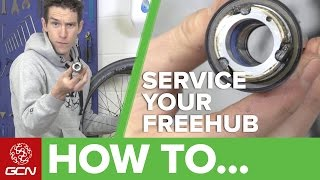 Download How To Service Your Road Bike Freehub Video