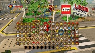 Download The Lego Movie Video Game: Unlocking Most of the Characters (Shopping Spree) Video