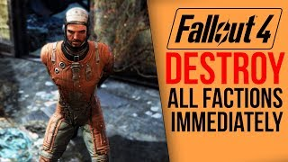 Download [Fallout 4] What happens if you destroy all factions IMMEDIATELY? Video
