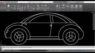 Download AUTOCAD Dibujo de un Carro Video