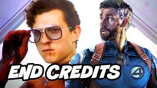 Download Spider-Man Far From Home End Credit Scene - Fantastic Four Easter Eggs Breakdown Video