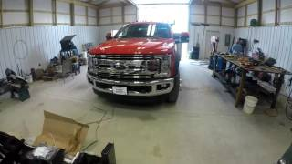 Download Outfitting the 2017 F-550 powerstroke work truck Video
