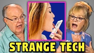 Download ELDERS REACT TO 5 WEIRD APPS & TECH Video