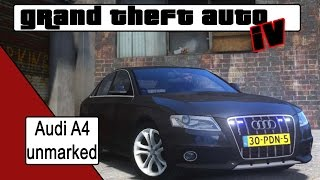 Download GTA 4 Audi A4 unmarked [NL] Video
