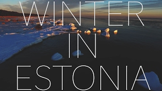 Download DRONE over ESTONIA in the WINTER (DJI PHANTOM 4) Video