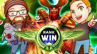 Download RANK WIN | MFPallytime & Mewnfare | TGN Squadron Heroes of the Storm Team League Gameplay Video
