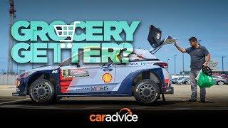Download Driving Hyundai's i20 WRC car through Sydney! Video
