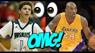 Download Lonzo Ball, Lamelo Ball And Lavar Ball Meets KOBE BRYANT! Video
