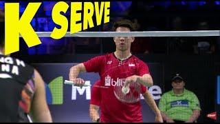 Download 3 Types of Kevin Sanjaya SERVE Video