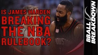 Download Is JAMES HARDEN Breaking The NBA Rulebook? Video