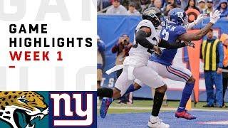 Download Jaguars vs. Giants Week 1 Highlights | NFL 2018 Video