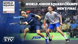 Download Tarek v Asal - WSF World Junior Squash Champs 2018 Men's Final Video
