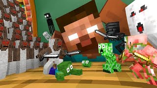 Download Monster School : TINY GRANNY APOCALYPSE - Minecraft Animation Video