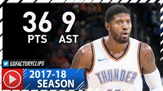 Download Paul George Full Highlights vs Timberwolves (2017.12.01) - 36 Pts, 9 Ast, 3 Blks, NASTY! Video