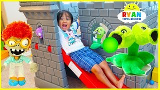Download Plants vs Zombies Plush : Zombies Return Pretend Play with Ryan ToysReview!!! Video