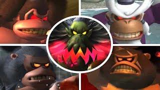 Download Donkey Kong Jungle Beat - All Kong Bosses (No Damage) Video