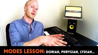 Download MODES EXPLAINED IN 13 MINUTES   Dorian, Phrygian, Mixolydian, Lydian, Phrygian... Video